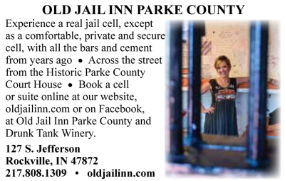AD: Old Jail Inn & Drunk Tank Winery