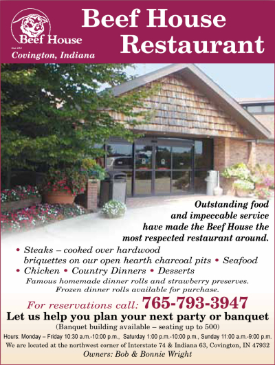 AD: Beef House Restaurant