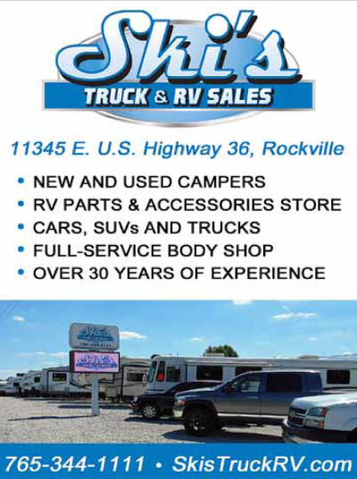 AD: Ski's Truck & RV Sales at Rockville