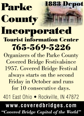 Visit Parke County Incorporated