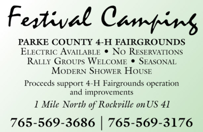 Visit Parke County 4-H Campgrounds - Festival Camping