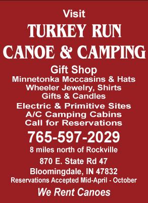 Visit Turkey Run Canoe & Camping