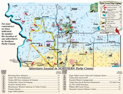 Welcome to Northern Parke County (MAP)