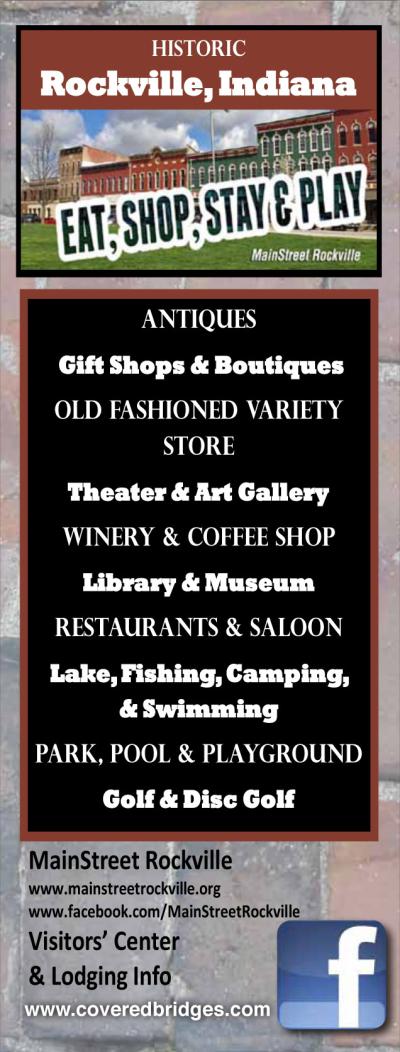 Visit Historic Rockville Indiana