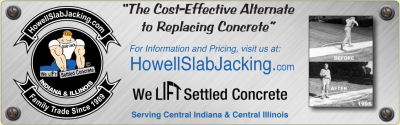 Visit HowellSlabJacking.com