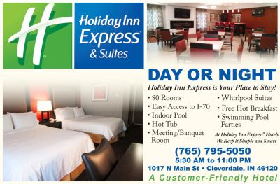 Visit Holiday Inn Express - Cloverdale Indiana
