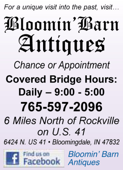 AD: Bloomin' Barn Antiques
