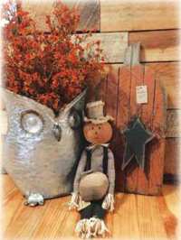 Rustic Owl Primitives in Rockville Indiana