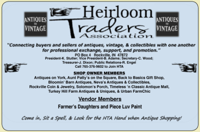 AD: Heirloom Traders Association