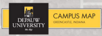 DePauw University Campus Map