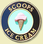 Scoops Ice Cream in Greencastle Indiana