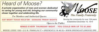 Visit the Greencastle Moose Fraternity