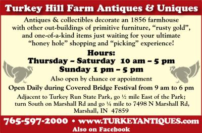 AD: Turkey Hill Farm Antiques & Uniques
