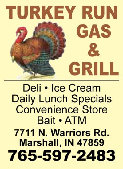 AD: Turkey Run Gas & Grill