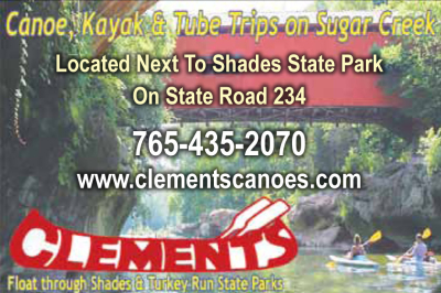 AD: Clements Canoes Outdoor Center