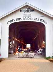 Hills & Bridges - Cycling Parke County