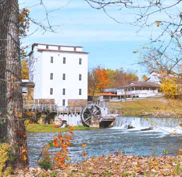 Visit The Historic Mansfield Roller Mill