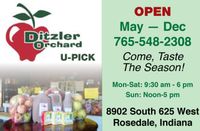 Visit Ditzler Orchard at Cherrywood Farm
