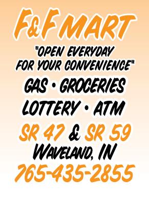 Visit F & F Mart in Waveland