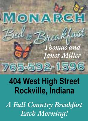 Visit Monarch Bed & Breakfast in Rockville
