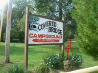 The Covered Bridge Campground in Rockville