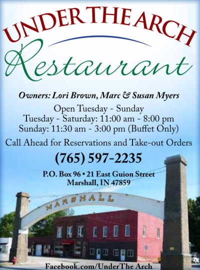 Visit the Under The Arch Restaurant in Marshall IN
