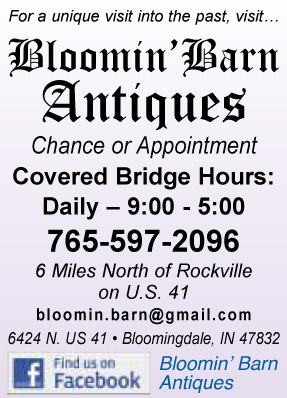 Visit Bloomin' Barn Antiques