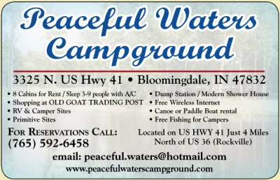 Visit Peaceful Waters Campground and The Old Goat Trading Post