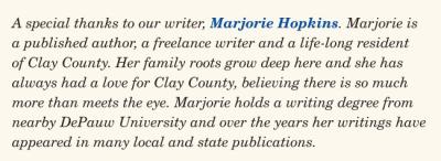 Marjorie Hopkins - Writer