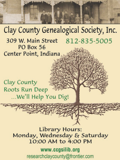 Visit Clay County Genealogical Society, Inc.