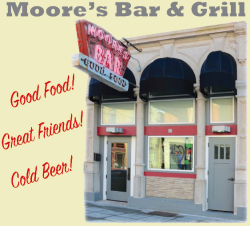 "Moore's Bar - The ""Cheers' of Greencastle"