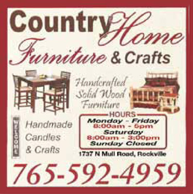 AD: Country Home Furniture & Crafts
