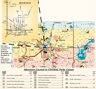 Welcome to Central Parke County (MAP)