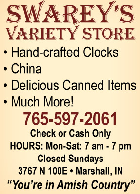 Visit Swarey's Variety Store