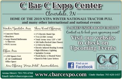 C Bar C Expo Center at Cloverdale Indiana