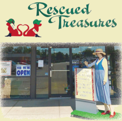 Visit The Rescued Treasures Thrift Store