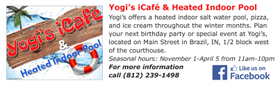 Visit Yogi's Pizza Cafe & Heated Indoor Pool
