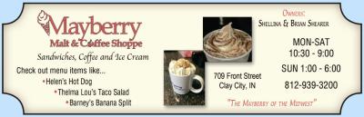 Visit Mayberry Malt & Coffee Shoppe