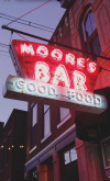 """Moore's Bar - The """"Cheers' of Greencastle"""