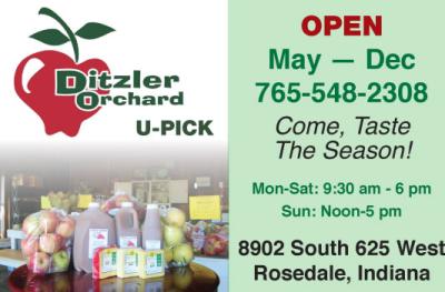 AD: Ditzler Orchard at Cherrywood Farm