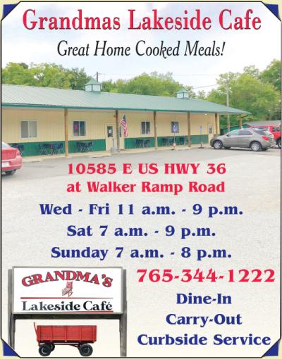 AD: Grandmas Lakeside Cafe