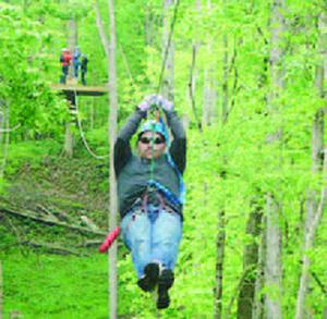 Indiana Zipline Tours in Crawfordsville
