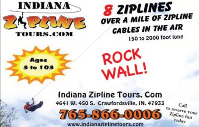 AD: Indiana Zipline Tours
