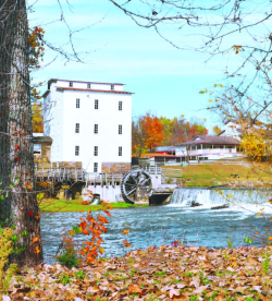 Since 1819, Historic Mansfield Roller Mill