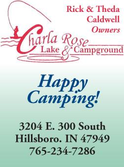 AD: Charlarose Lake and Campground