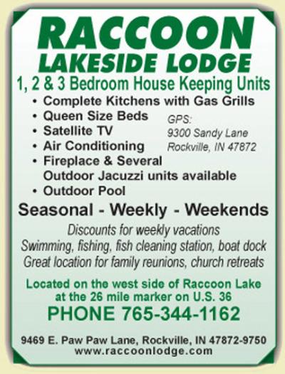 AD: Raccoon Lakeside Lodge