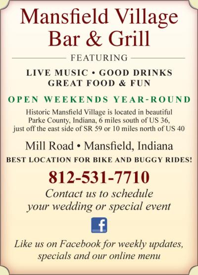 AD: Mansfield Village Bar & Grill