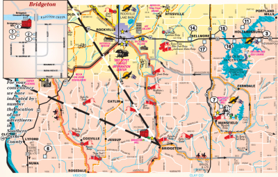MAP - Welcome to Southern Parke County
