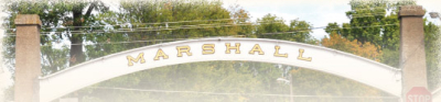 The Marshall Arch in Marshall Indiana