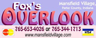 FOX'S OVERLOOK at MANSFIELD VILLAGE ONLINE STORE!  -- Books, Calendars, Gifts and Mor